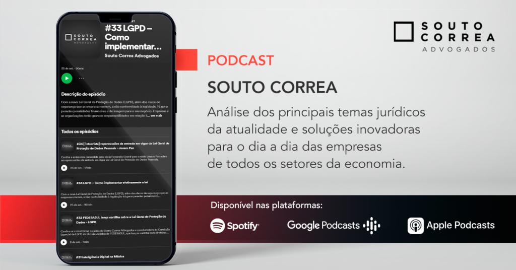 Cala de Podcast - Souto Correa Advogados